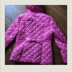 Kate Spade quilted down puffer - pink - L